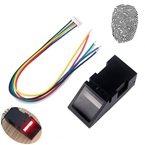 Green Light Optical Fingerprint Reader Sensor Module for Arduino