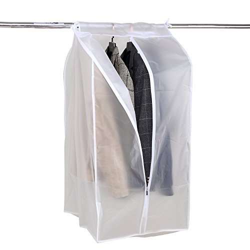 368a1b331f74 Richards Homewares Clearly Organized Clear Vinyl Framelss Suit Bag ...