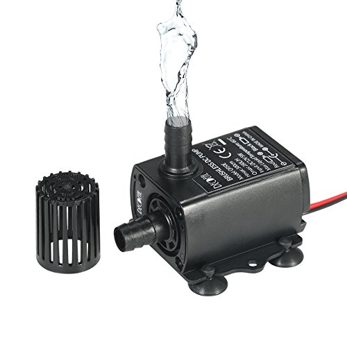 Pump Durable In Use Fish Tank Fountain Open-Minded Submersible Water Pump Ultra Quiet For Pond Aquarium